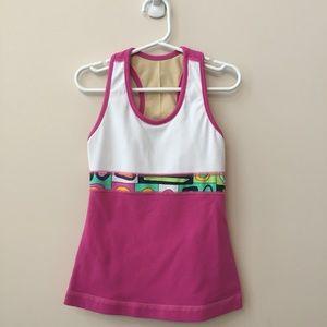 (2 PIECE) Triple Flip Girl's Tank & Shorts Size 3